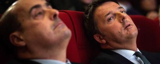PD: l'italia affonda e il Partito litiga…