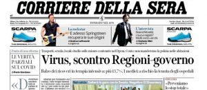 Governo & Regioni: uno scontro/confronto sempre più paradossale che ci porterà a sbattere…