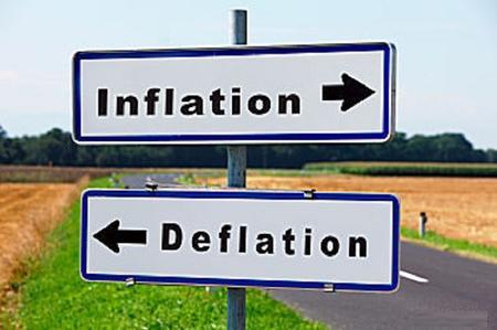 inflazione deflazione