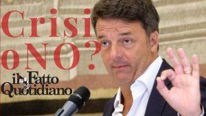 """Governo: Conte, Di Maio, Zingaretti la crisi è più vicina, inutile trastullarsi con la favola del gemello """"buono"""" di Renzi…"""