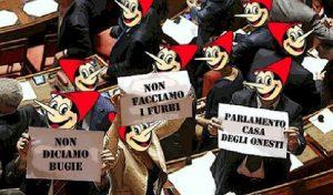 """Italia: Paese del """"piscialettismo"""" di governo. Un popolo di Pinocchi dai capricci irresistibili…"""