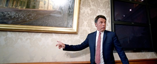 """Renzi: """"Parlarne bene o parlarne male non importa, purché se ne parli""""…"""
