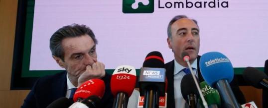 Coronavirus: non vi pare sospetta l'esposizione mediatica del Presidente della Lombardia Fontana e dell'assessore Gallera?