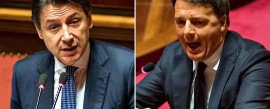 Governo: continua il litigio Renzi/Conte, non si capisce perché ancora non si rompe?