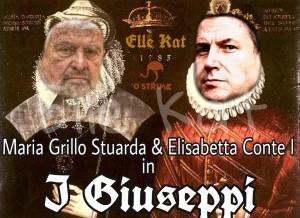 5 stelle:  Beppe e Giuseppi si contendono i resti del Movimento…