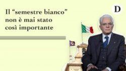 Politica: semestre bianco occasione per riflettere sulla realtà politica italiana. Contro il populismo una legge elettorale proporzionale. Qualsiasi sistema basato su una coalizione di partitie su temi fondamentaliincompatibili tra loro è tradire la nostra Costituzione…