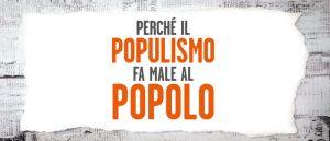 Politica: l'antidoto al populismo è più contenuti…