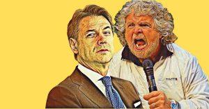 M5Stelle: va in onda la tragicomica faida tra Grillo e Conte sulle macerie dei Cinquestelle. Alla fine resterà forse solo Di Maio…