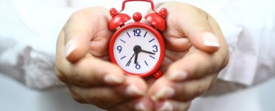 10 modi per riprenderti il tuo tempo…