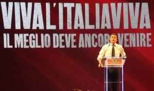Renzi: col voto anticipato Italia Viva e il suo leader sparirebbero dalla scena politica…