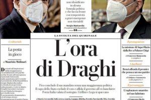 Italia:  arriva Mandrake? No, Draghi. Una società squinternata e divisa alla ricerca disperata di stabilità…