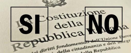 Pd: il partito vota Sì ma se ne vergogna e fa finta che il referendum non lo riguardi…