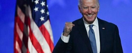 America & Italia: nonostante incomba ancora il 'cialtrone' Trump, il neopresidente Joe Biden è già al lavoro…